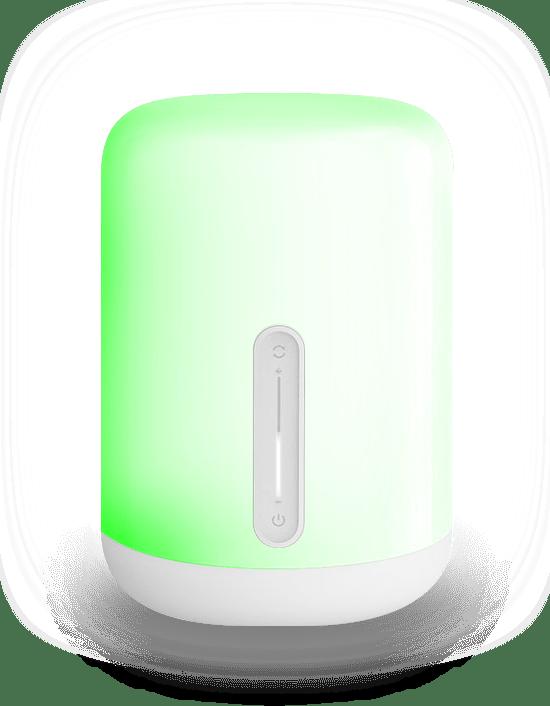 Mii bedsidelamp groen