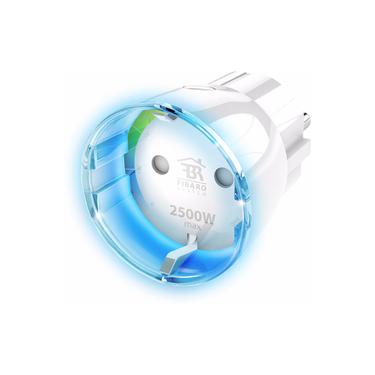 Fibaro Slim Stopcontact Wall Plug met Energiemeter