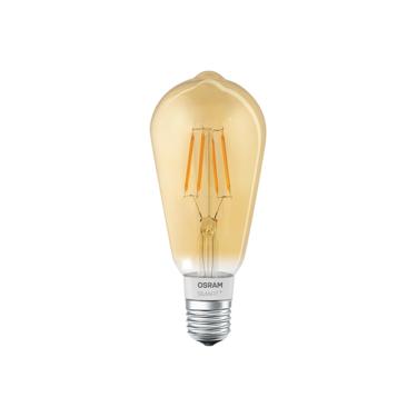 Osram Edison Filament Lamp E27 Smart Dimbaar Goud