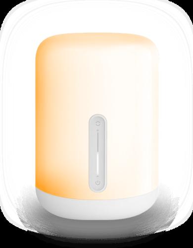 Mii bedsidelamp oranje