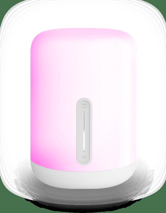 Mii bedsidelamp roze